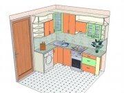 Выполняем планировку кухни
